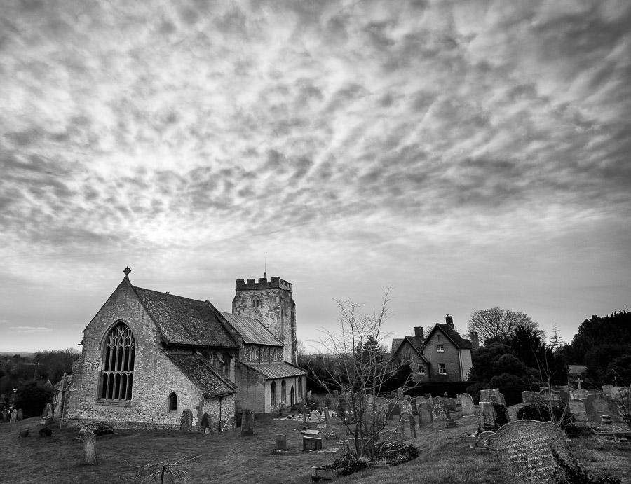 Orwell churchyard