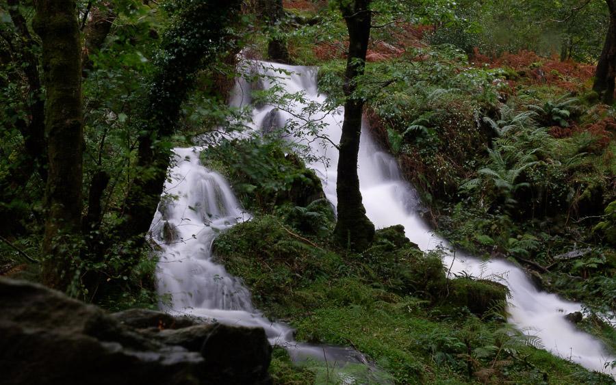 A snowdonia waterfall